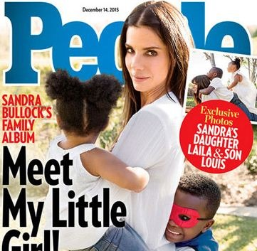 Sandra Bullock Adopts A Daughter!