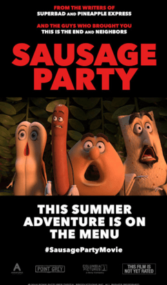 Sausage Party Movie Review English Movie Review