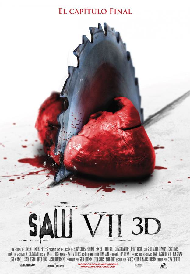 Saw 3D Movie Review English