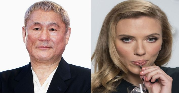 Scarlett Johansson And Takeshi In A New Film!