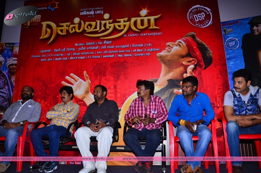 Telugu Dubbed Movie Selvandhan Press Meet