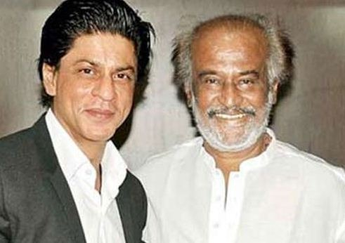 Shah Rukh Is A Proud Rajinikanth Fan!