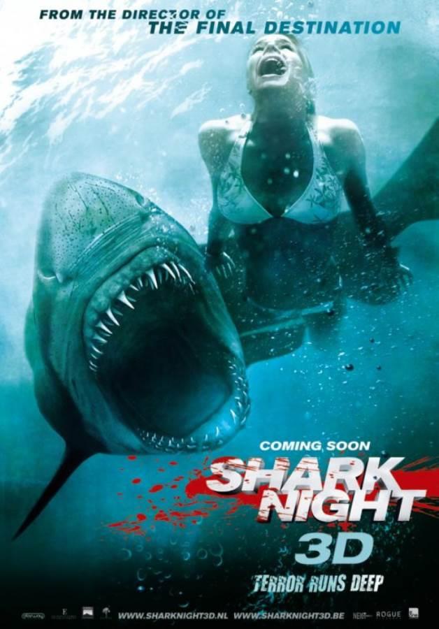 Shark Night Movie Review English