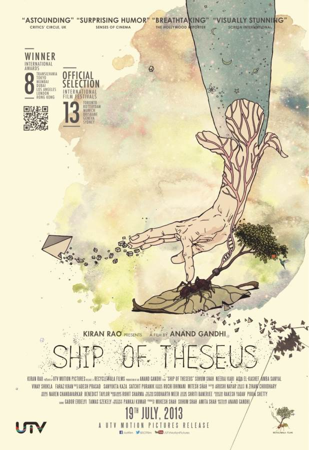 Ship of Theseus- roll out of a beautiful cinematic voyage! Movie Review Hindi