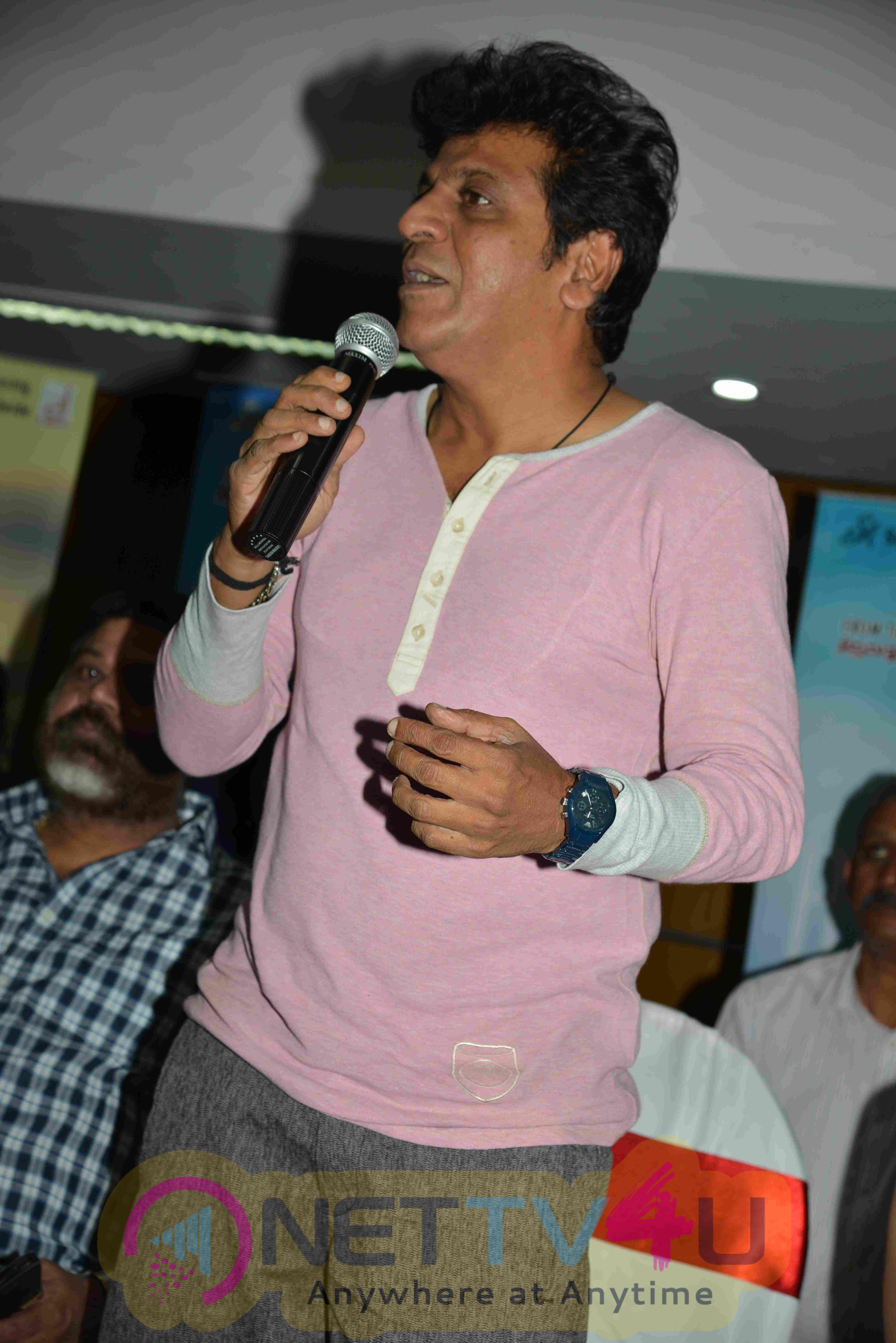 Shivalinga Kannada Film Press Meet Stills