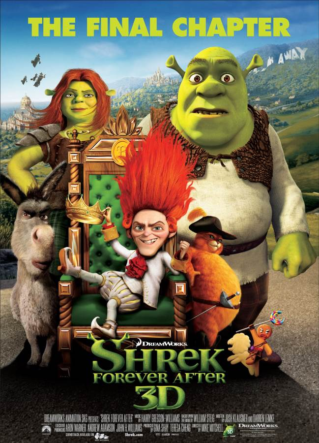 Shrek Forever After Movie Review English