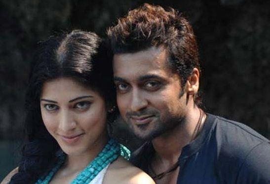 Shruti Haasan And Suriya In Vizag!!