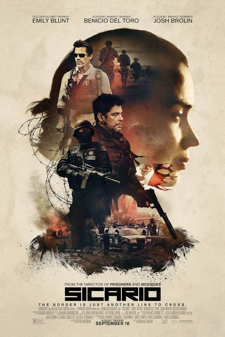 Sicario Movie Review English