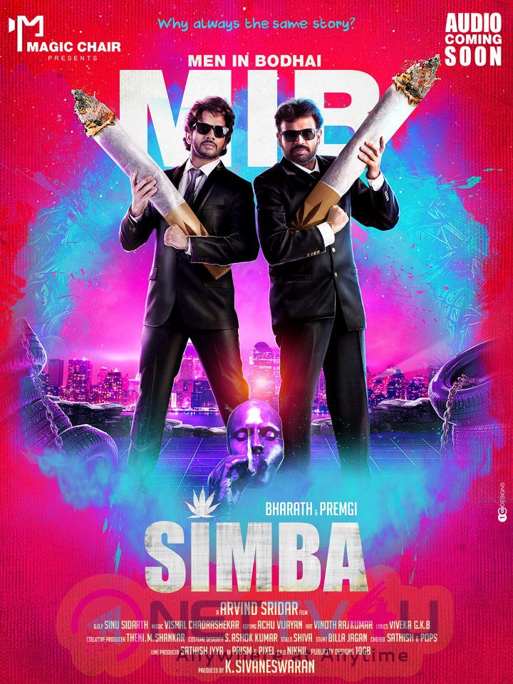 Simba Tamil Movie First Look Posters
