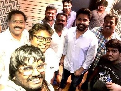 "Simbu Croons For ""Veera Sivaji!"""