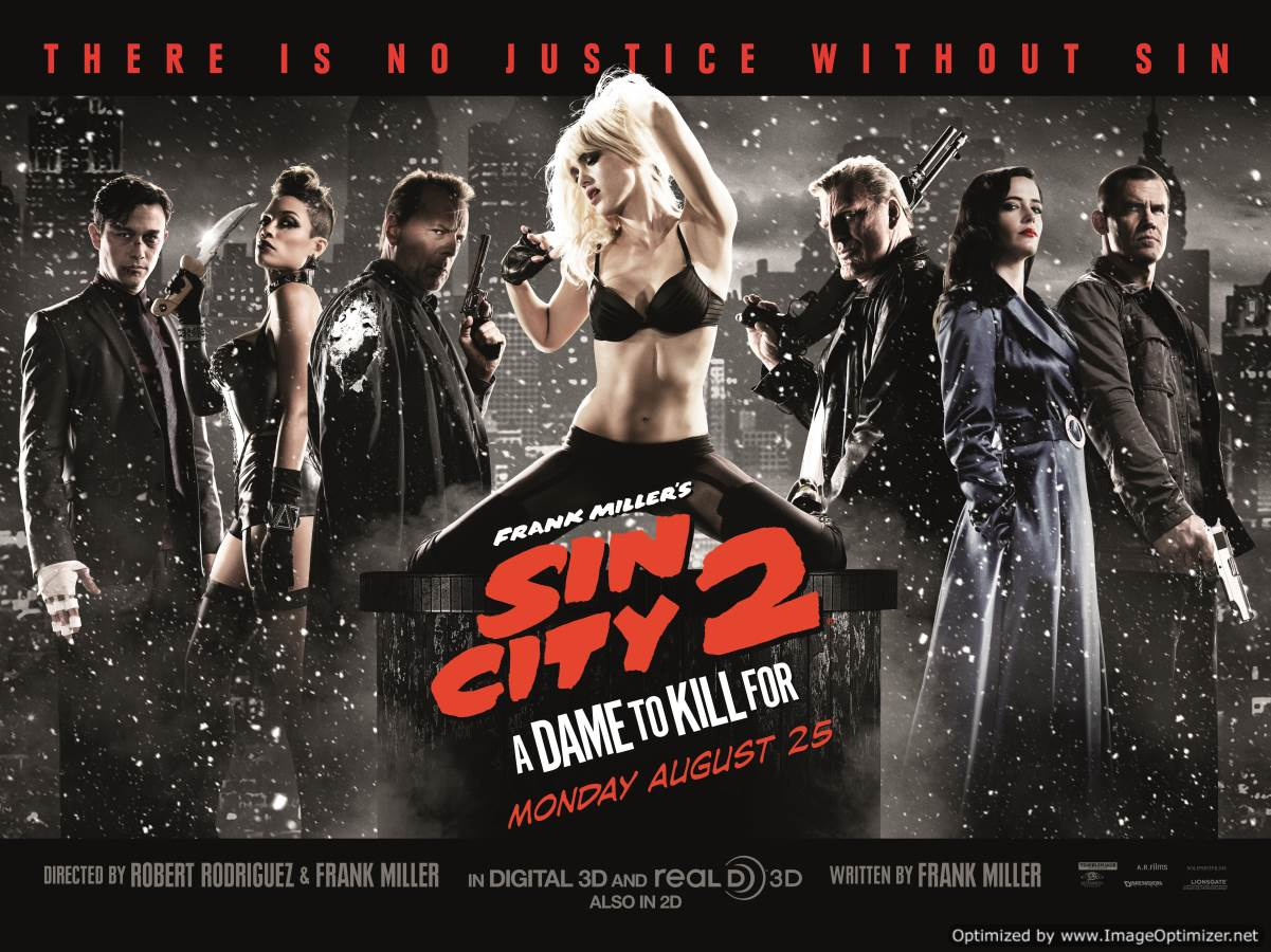 Sin City: A Dame To Kill For Movie Review English