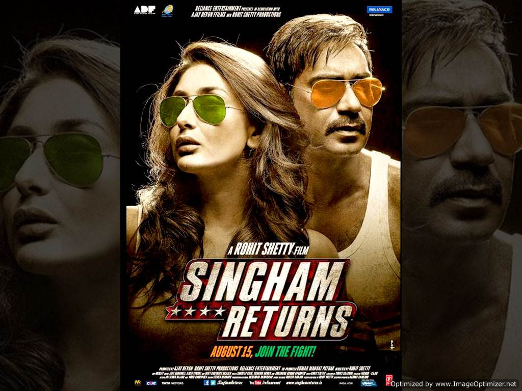 Singham Returns Movie Review Hindi