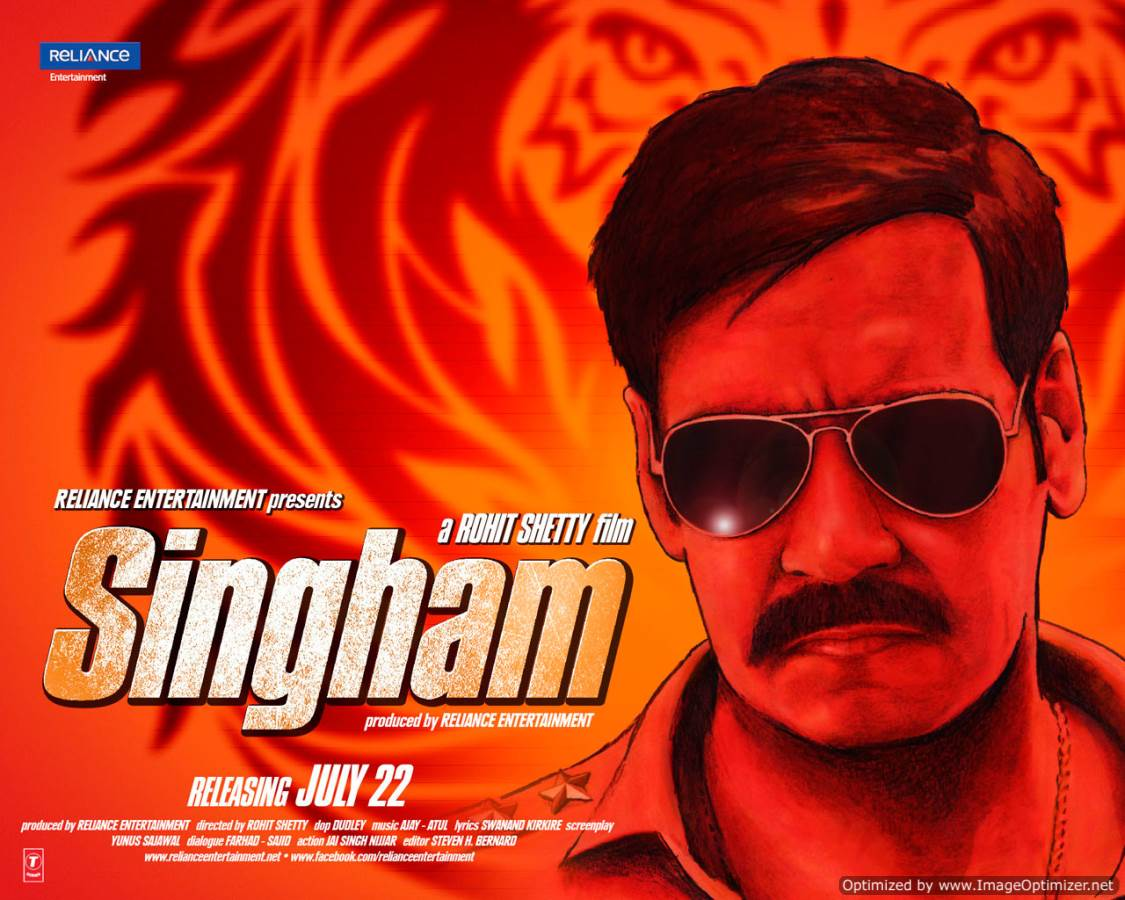 Singham Movie Review Hindi