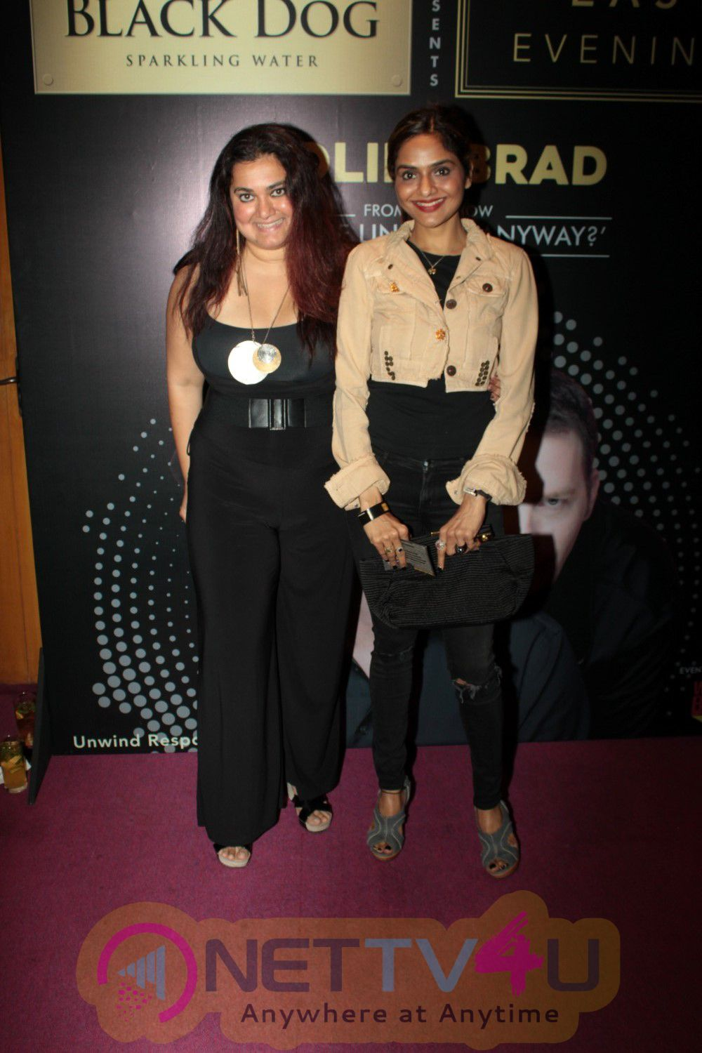 Soha Ali Khan At The Red Carpet Of Black Dog Easy Evenings Colin & Brad Two Man Show Photos Hindi Gallery
