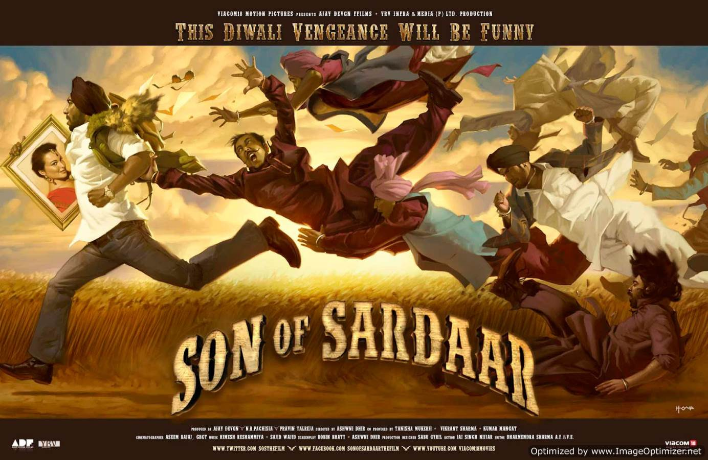 Son Of Sardaar Movie Review Hindi