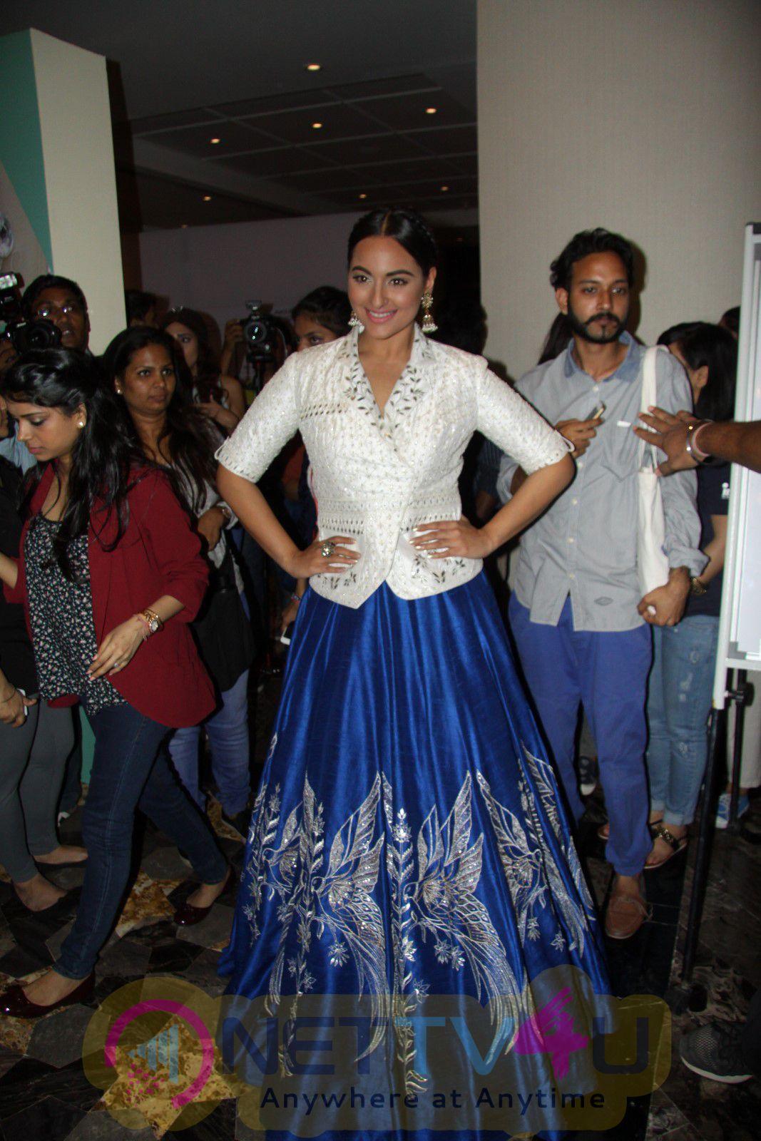 Sonakshi Sinha Showstopper For Anita Dongre At LFW Summer Resort 2016 Event Stills