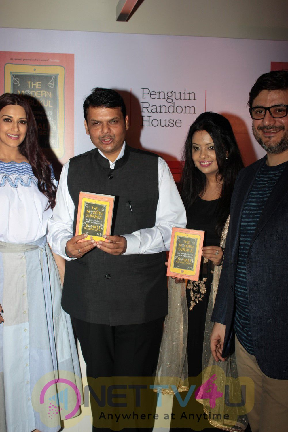 Sonali Bendre Press Conference Celebrating The Success Of Her Book The Modern Gurukul Stills