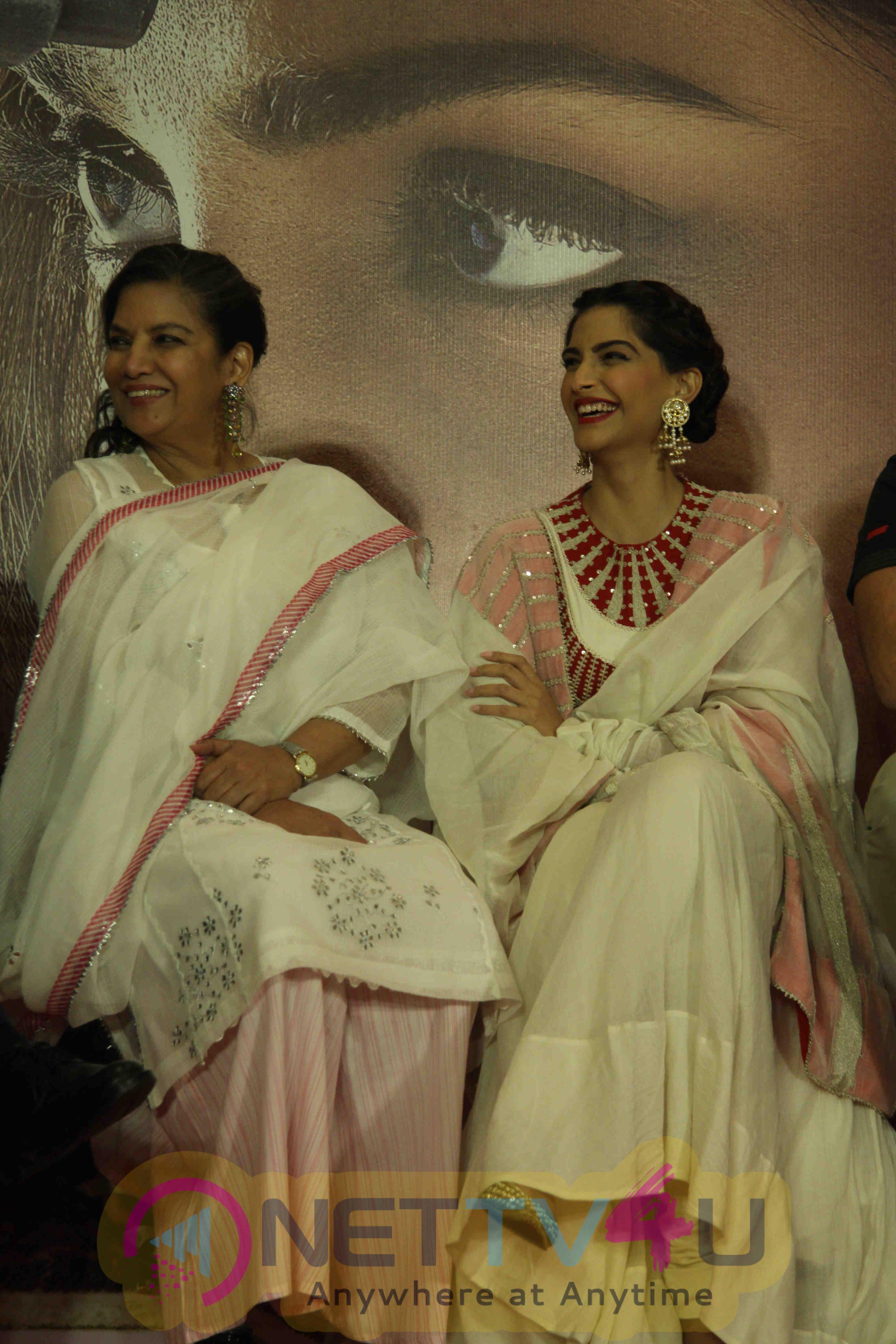 Sonam Kapoor At Film Neerja Success Celebration Photos