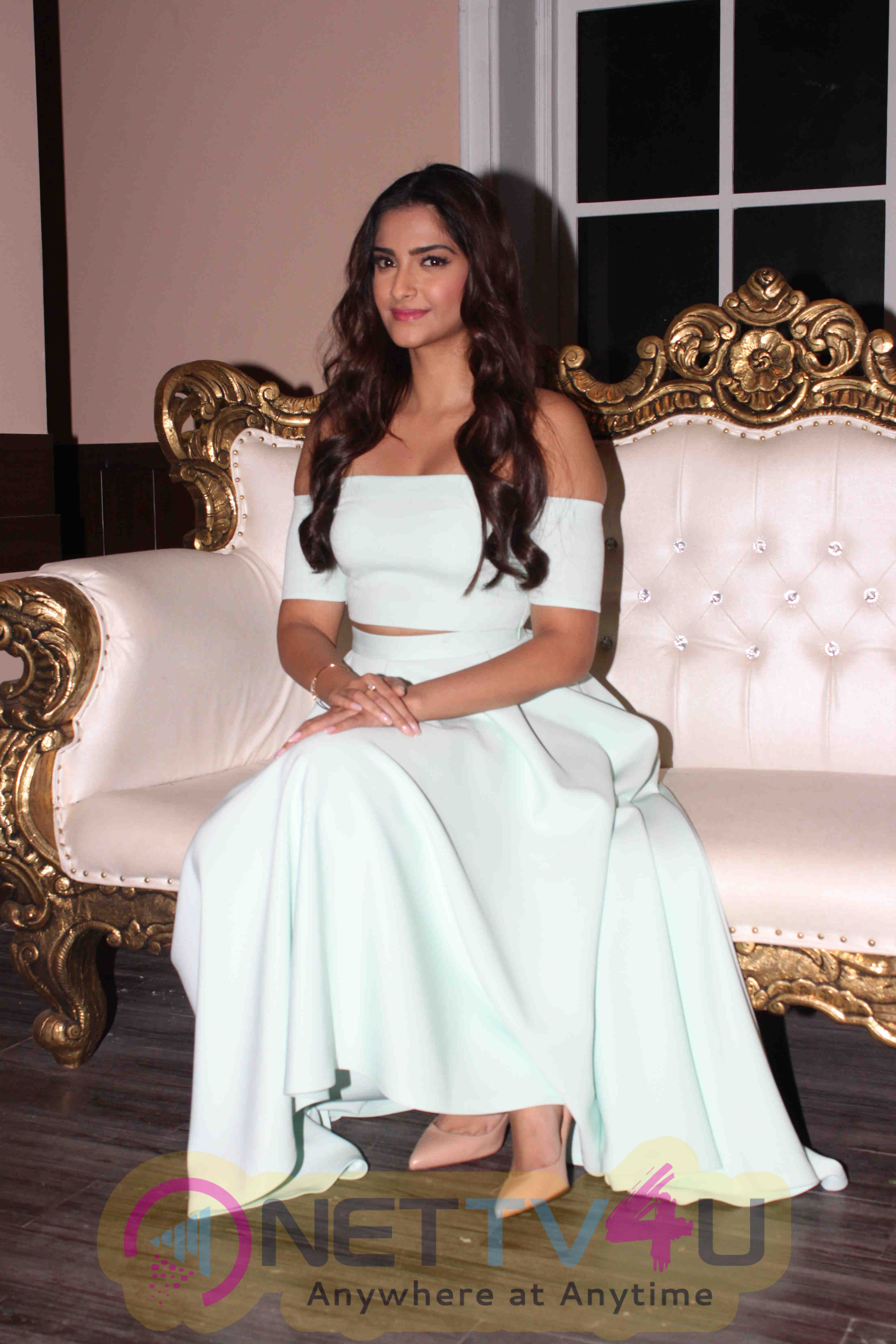 Sonam Kapoor At The Promotional Shoot Of Kalyan Jewellers New Brand Campaign In Mumbai