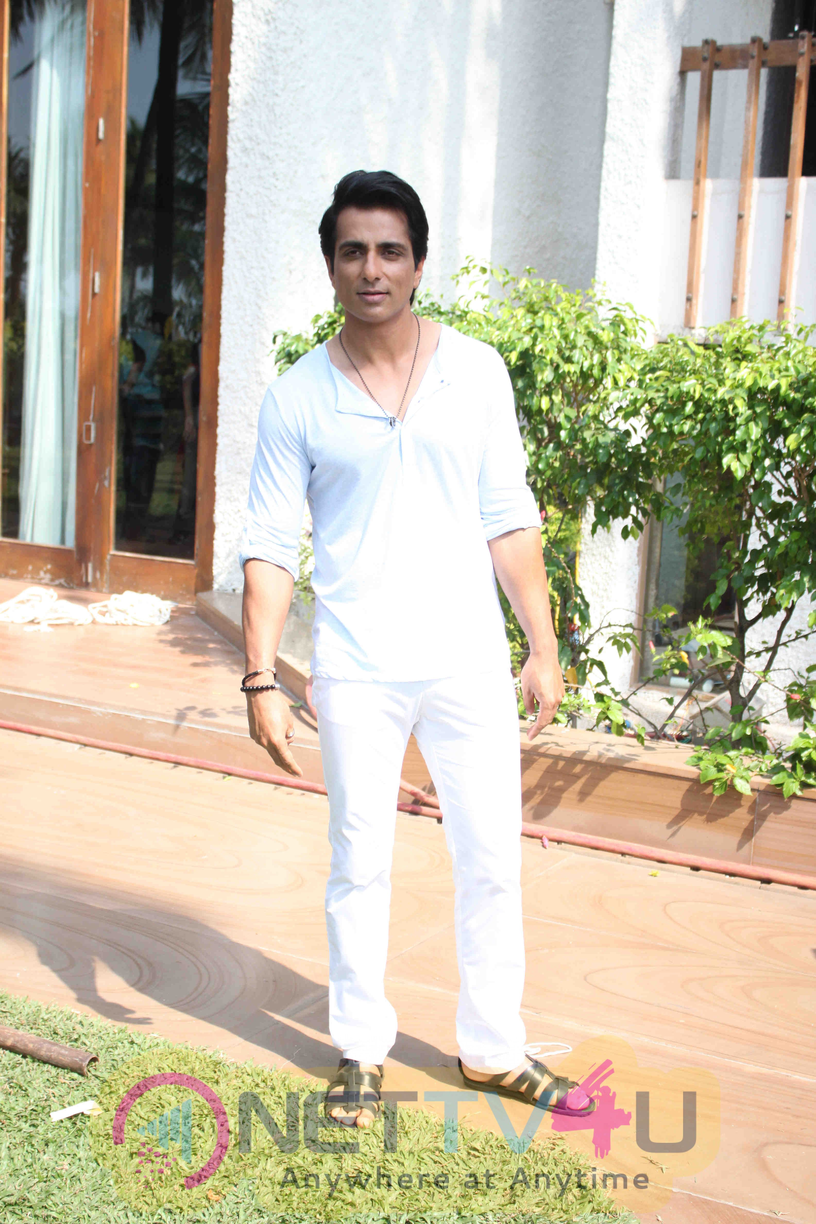 Sonu Sood And Sonal Chauhan Shoot For Texmo Pipe Fittings Photos