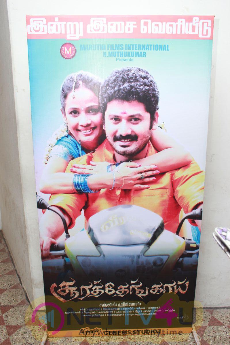 Soorathengai Movie Audio Launch Stills