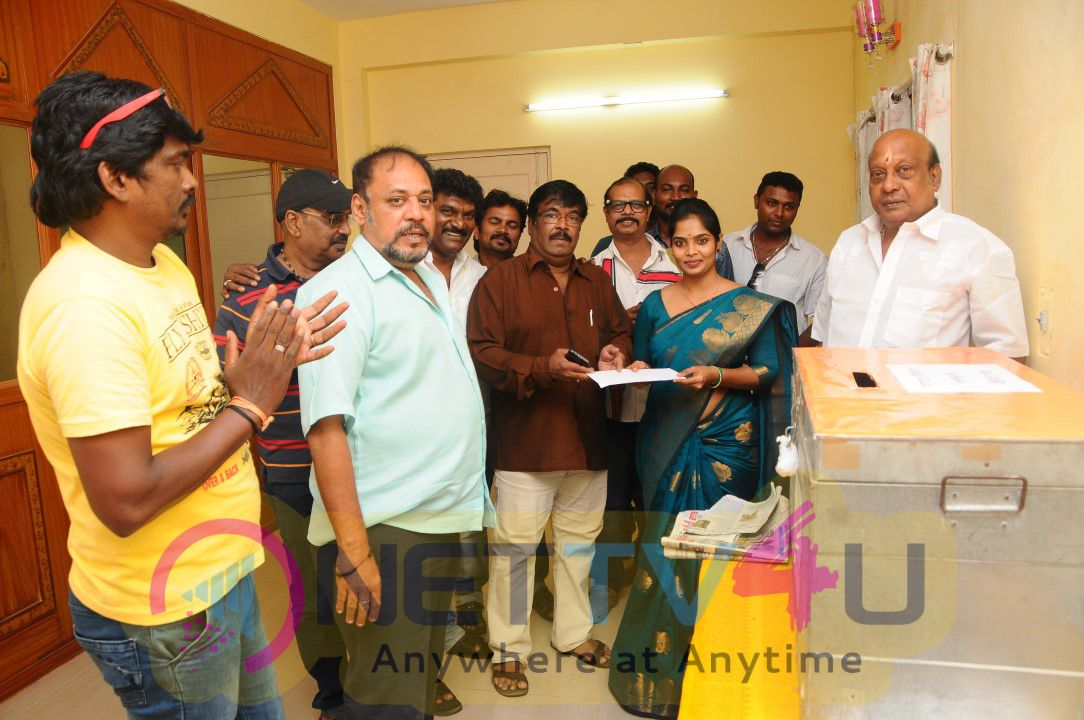 South Indian Cine Television Artist And Dubbing Artist Union Election Nomination Photos