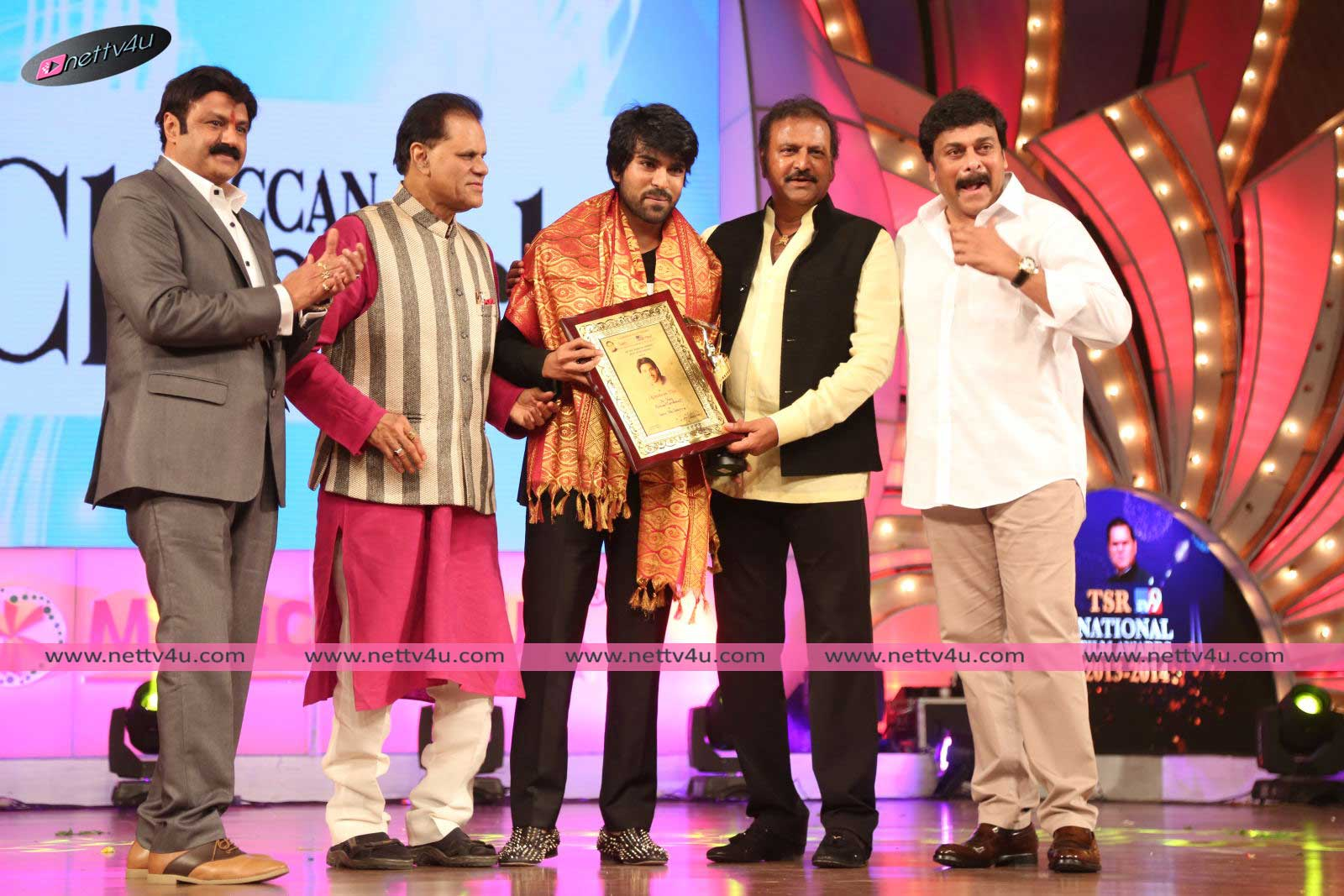 South Indian TSR TV9 Awards Stills