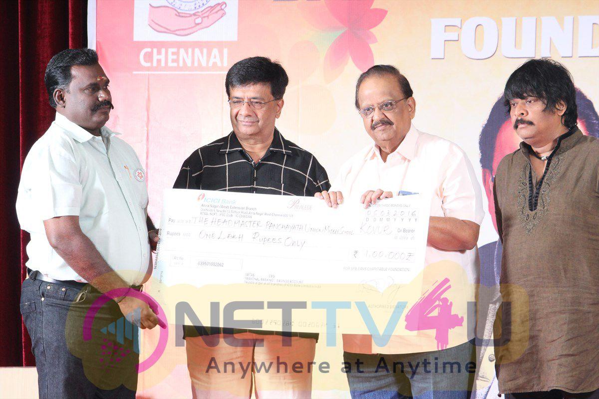 SPB Fans Charitable Foundation Photos Annual Meet 10th Year Stills Tamil Gallery