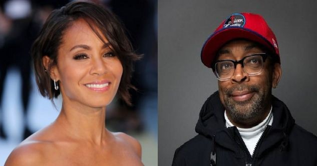 Spike Lee And Jada Pinkett Smith Support The #OscarsTooWhite Movement!