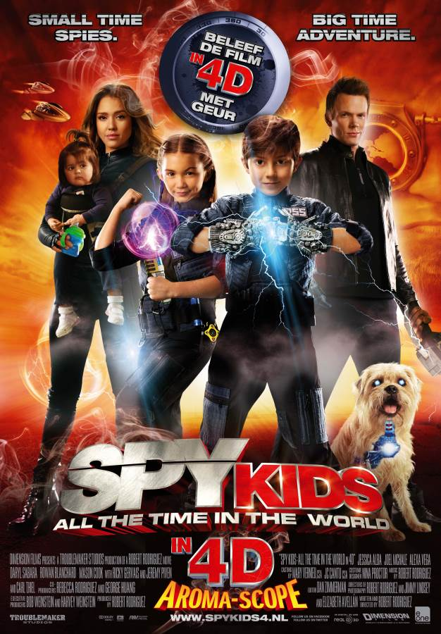 Spy Kids: All The Time In The World Movie Review English