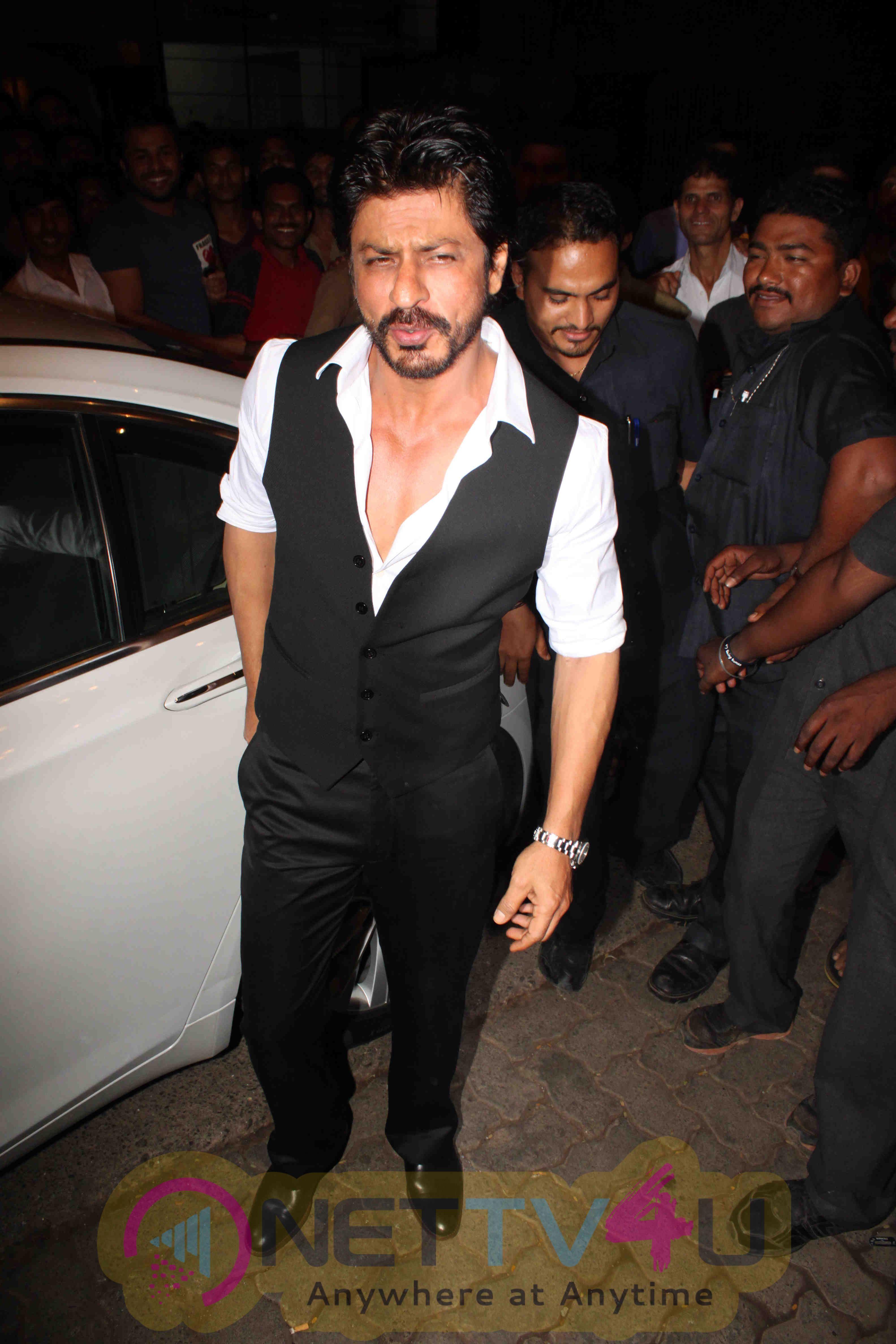 SRK, Aishwarya, Ranveer, Jacqueline At SLB's National Award Win Party Photos Hindi Gallery
