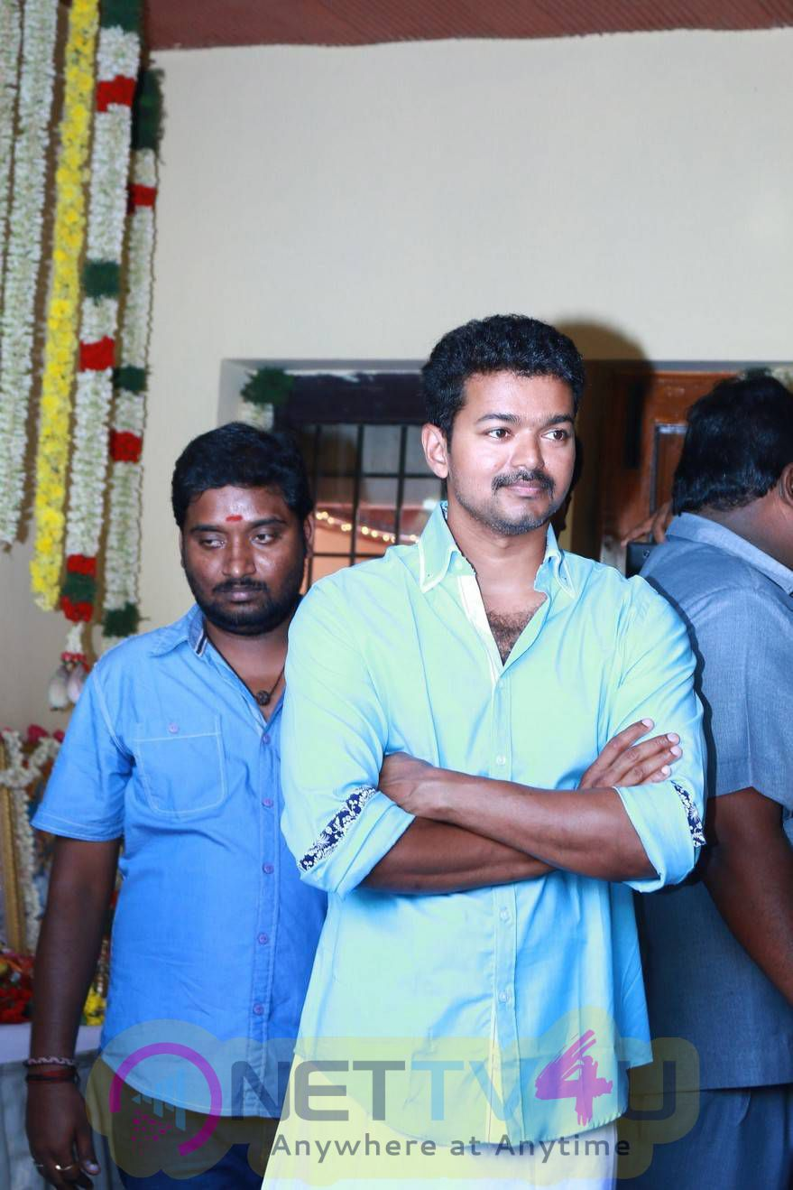 Stills Of Atlee Tamil Movie Launch
