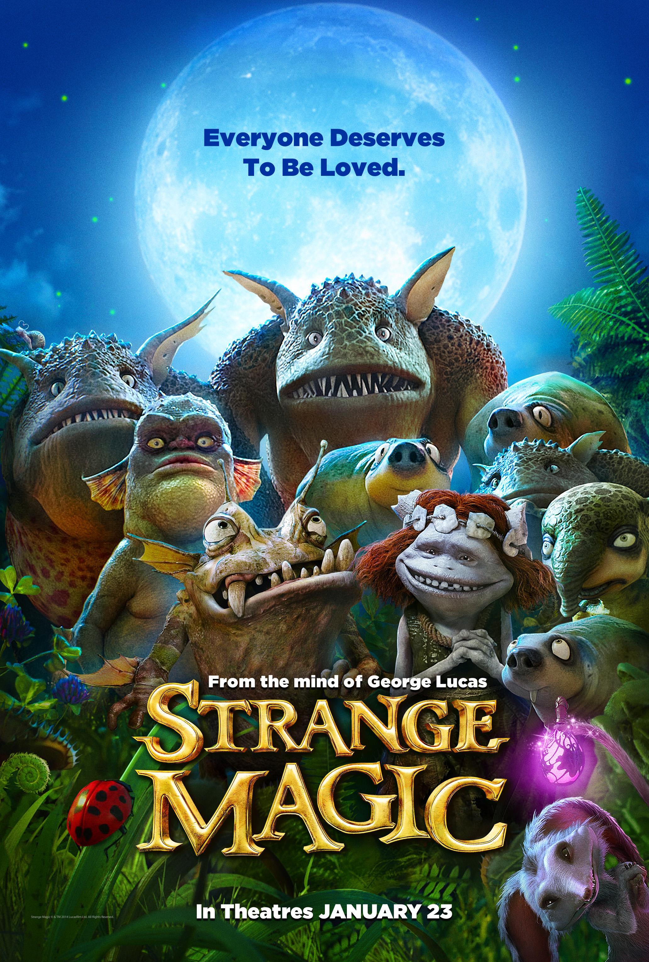 Strange Magic Movie Review English