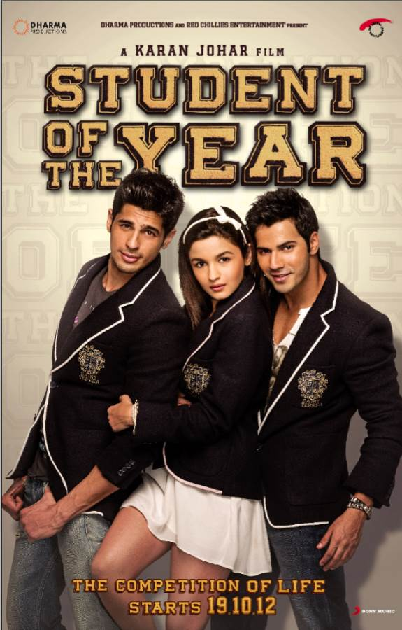 Student Of The Year Movie Review Hindi