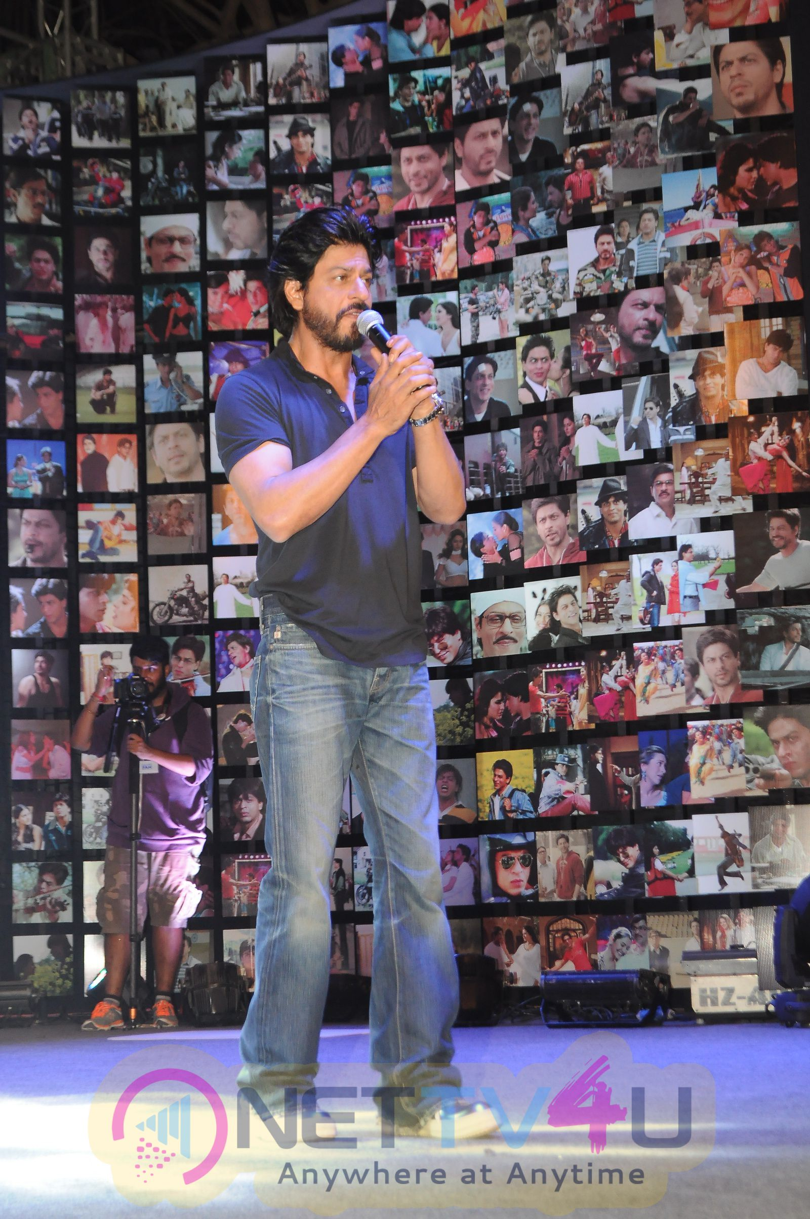 Superstar Shah Rukh Khan Much Awaited Film Fan Trailer Launch Stills
