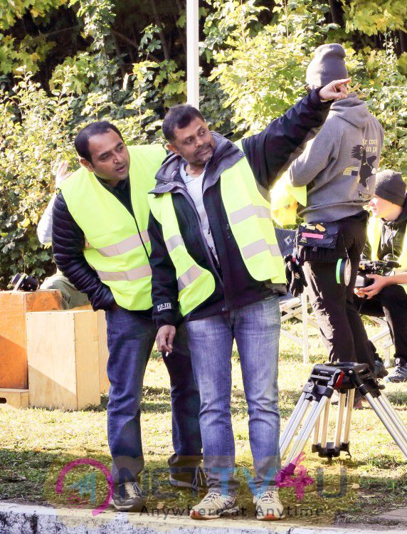Surya 24 The Movie Working Fascinating Stills