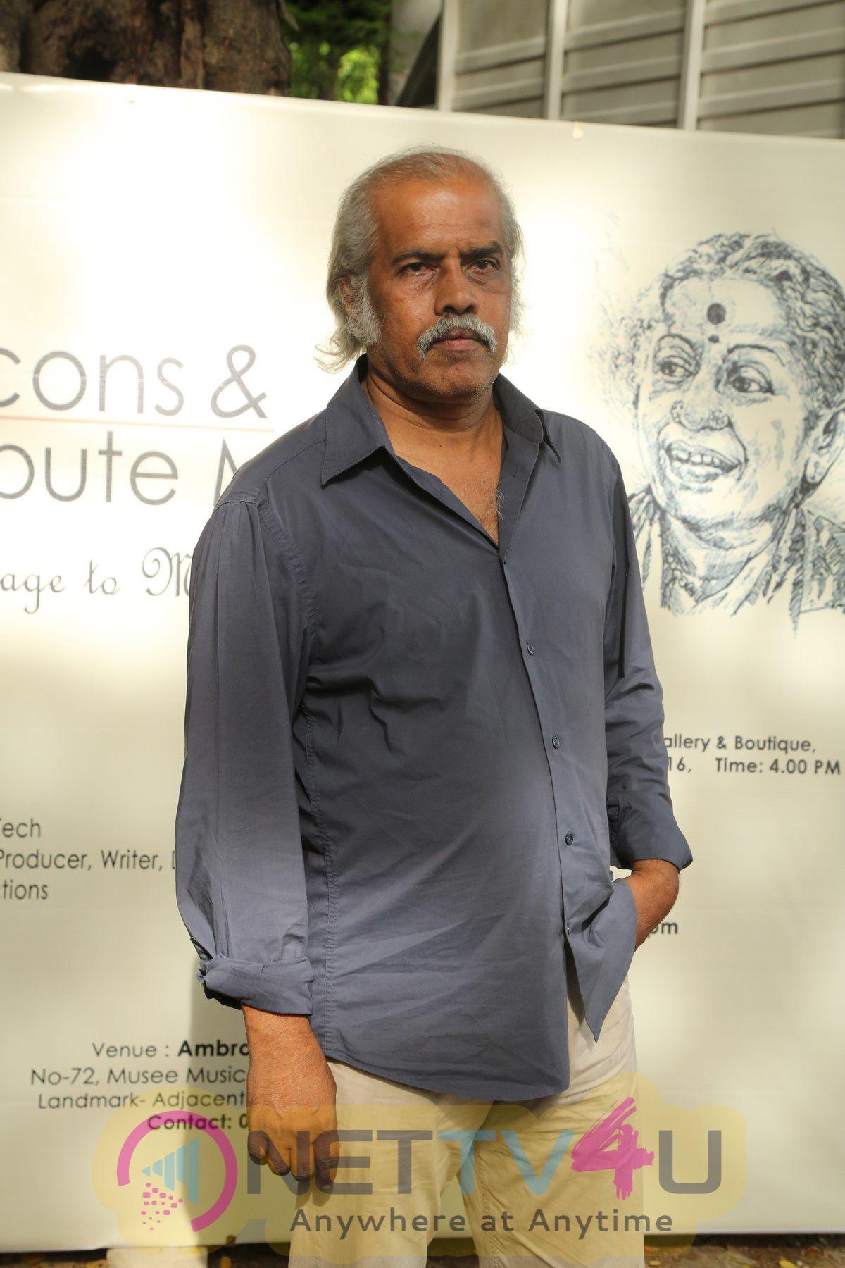 Tamil Celluloid Series Photo Exhibition Function Stills