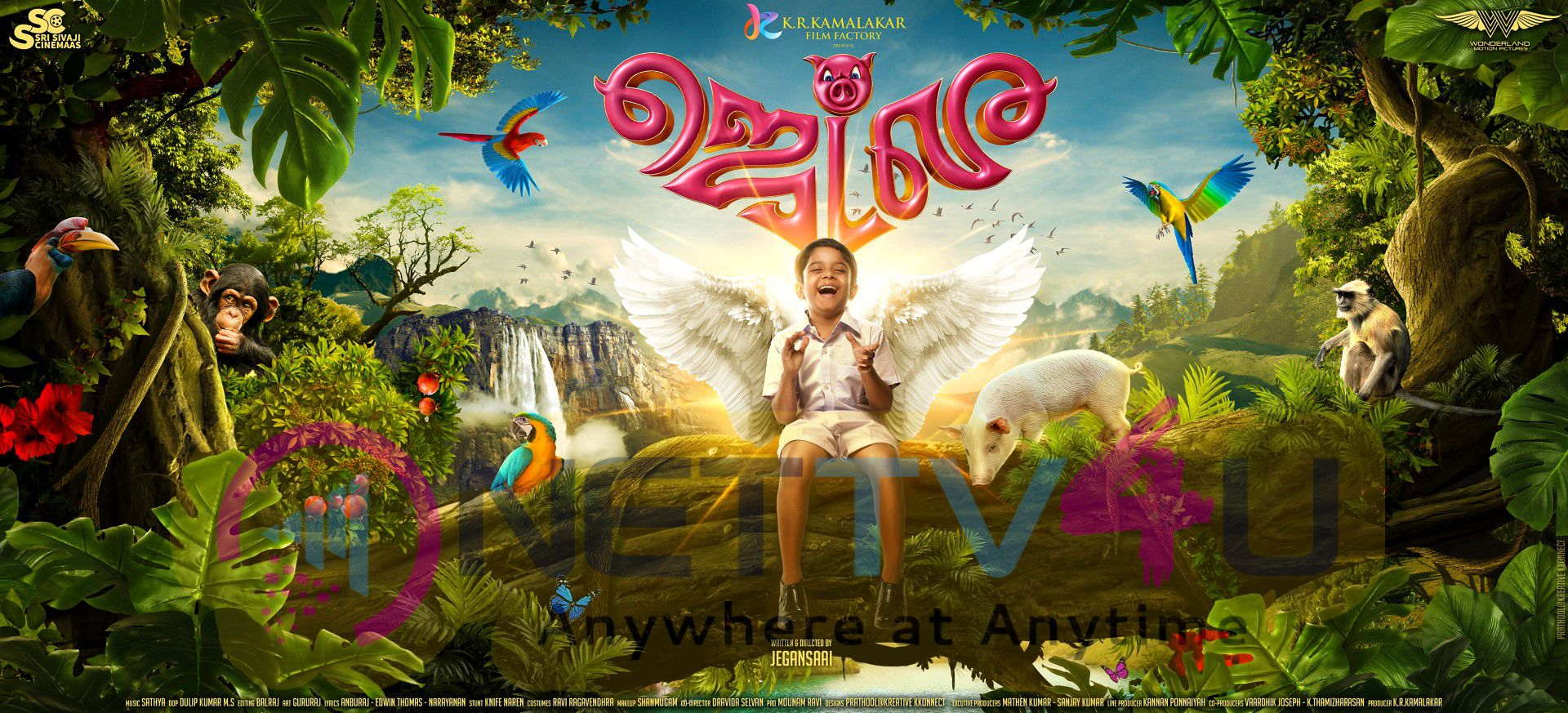 Tamil Movie Jet Lee First Look Charming Wallpapers