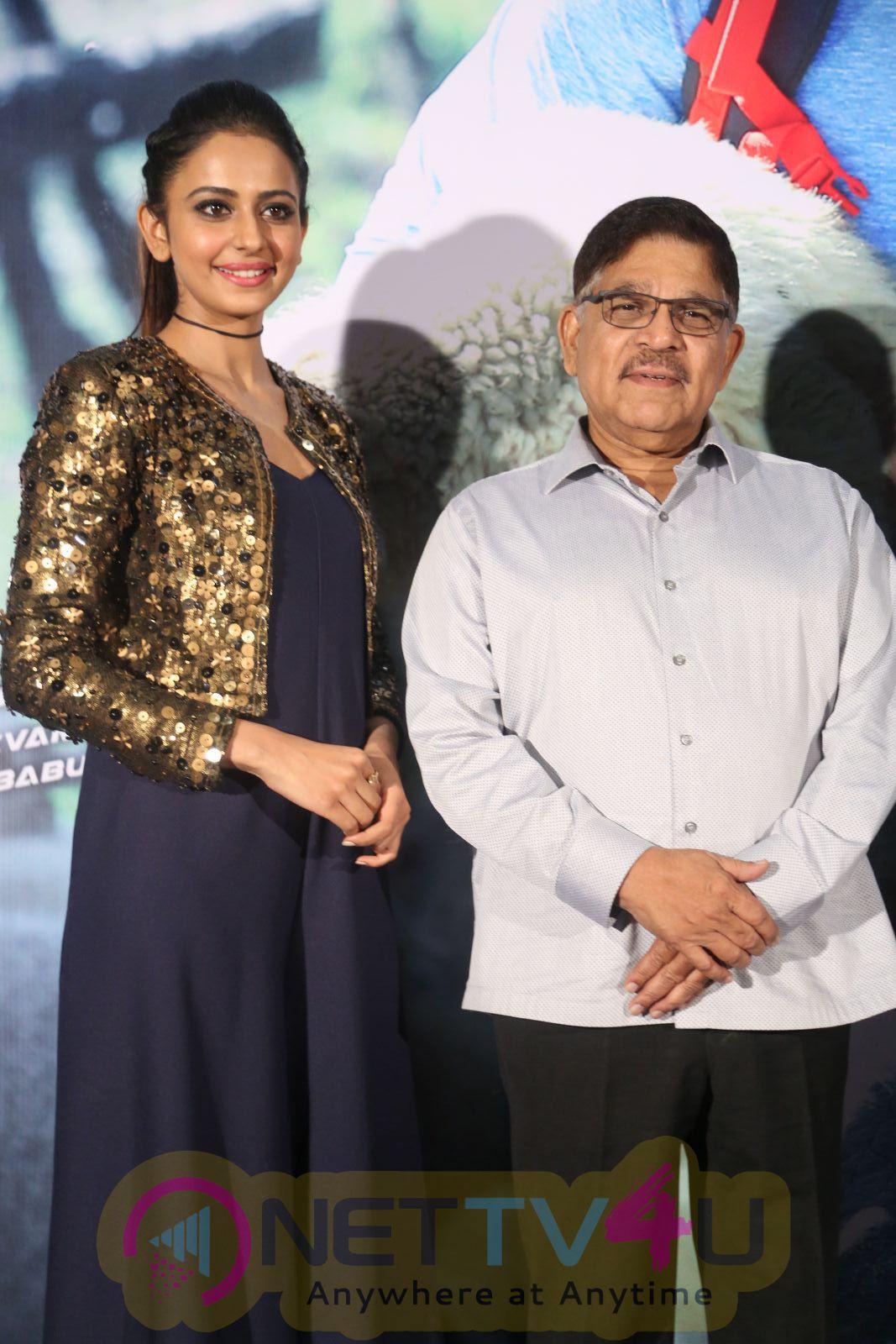 Telugu Movie Dhruva Trailer Launch Excellent Stills