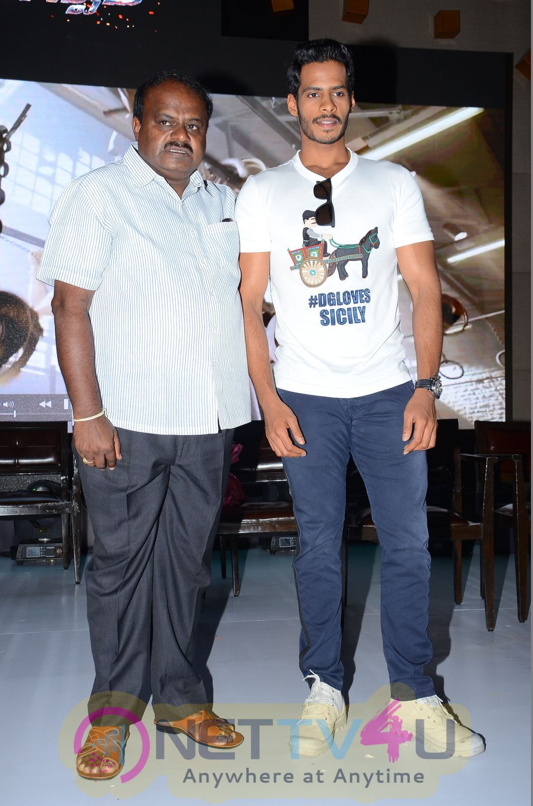 Telugu Movie Jaguar Teaser Launch Exclusive Stills