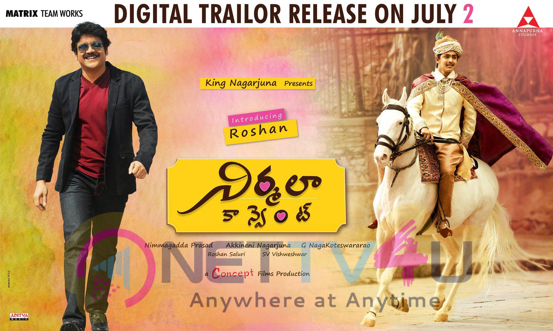 Telugu Movie Nirmala Convent Digital Trailer Release On July 2 Posters