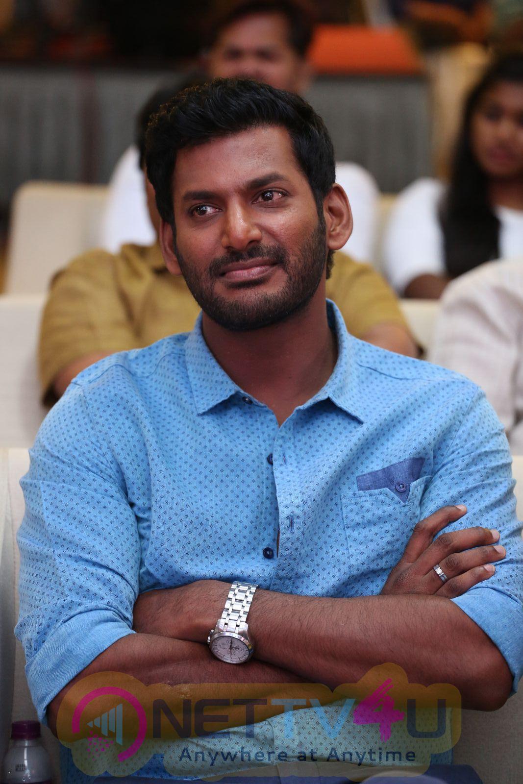 Telugu Movie Okkadochadu Audio Launch Enticing Photos