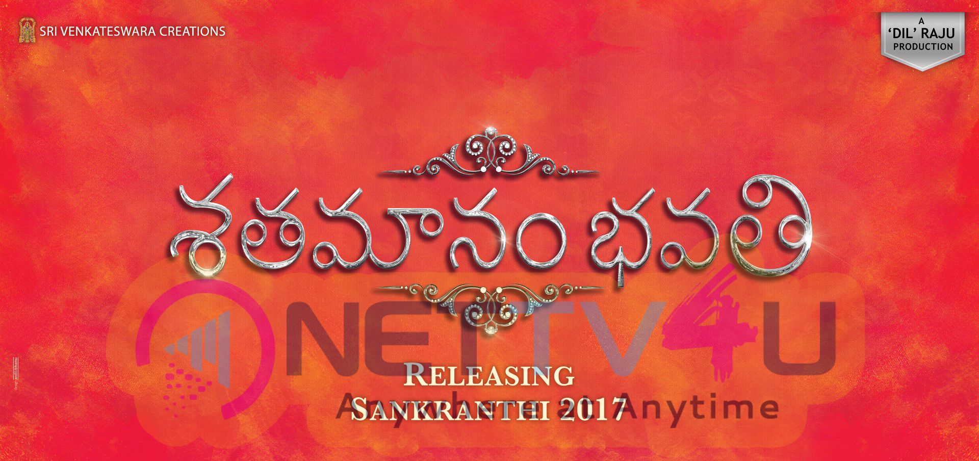 Telugu Movie Shatamanam Bhavati Motion Poster