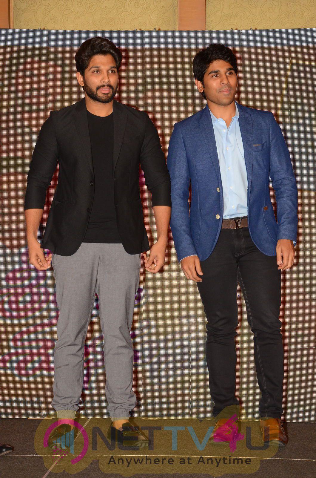 Telugu Movie Srirastu Subhamastu Thanks Meet Photos