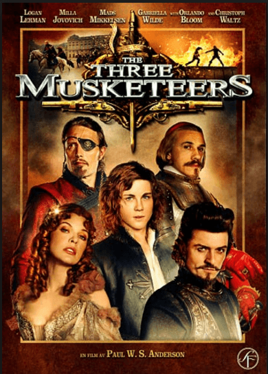 The Three Musketeers Movie Review English Movie Review