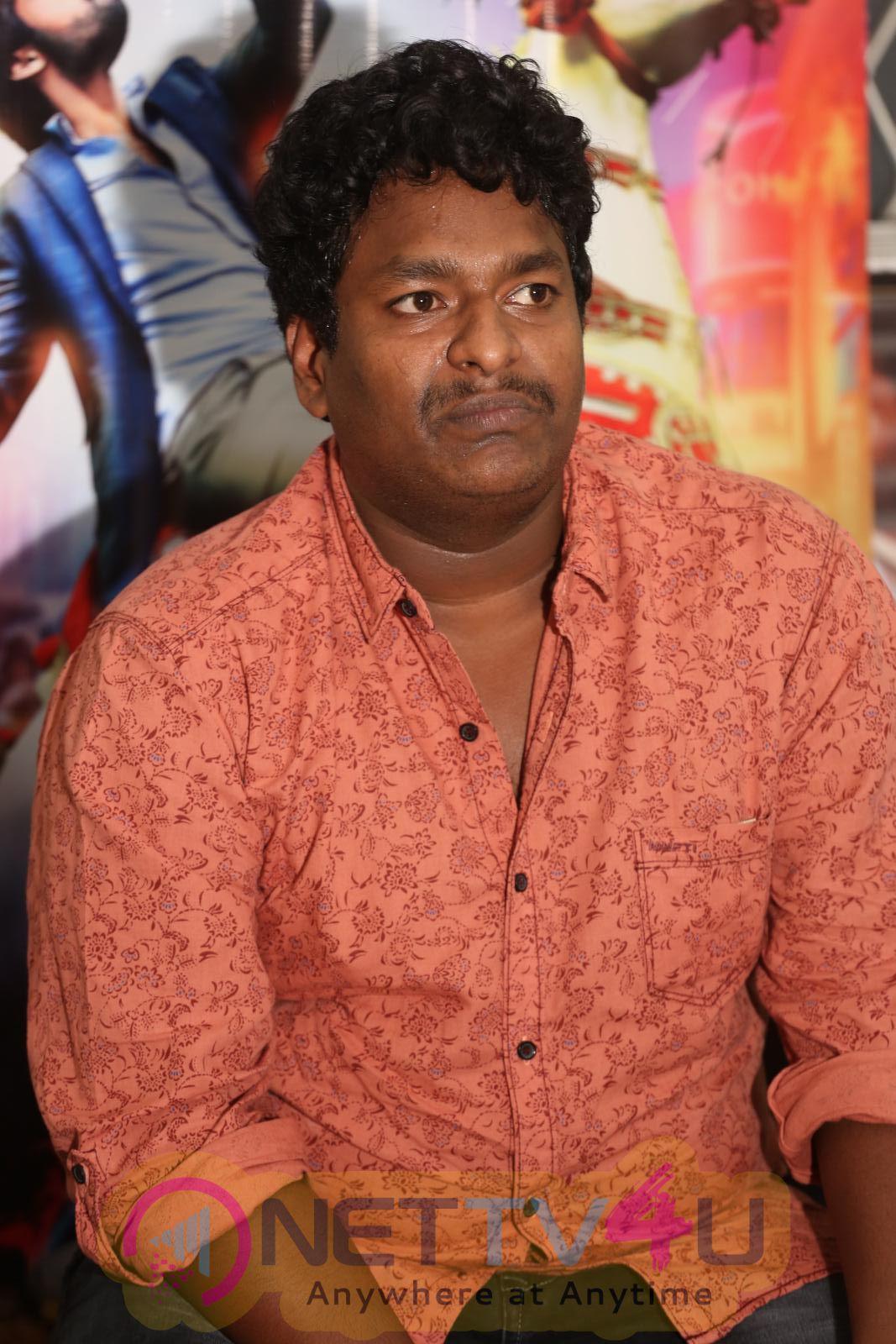 Thikka Movie  Pressmeet Stills & Larissa Bonesi Hot Cleavage Photos Telugu Gallery