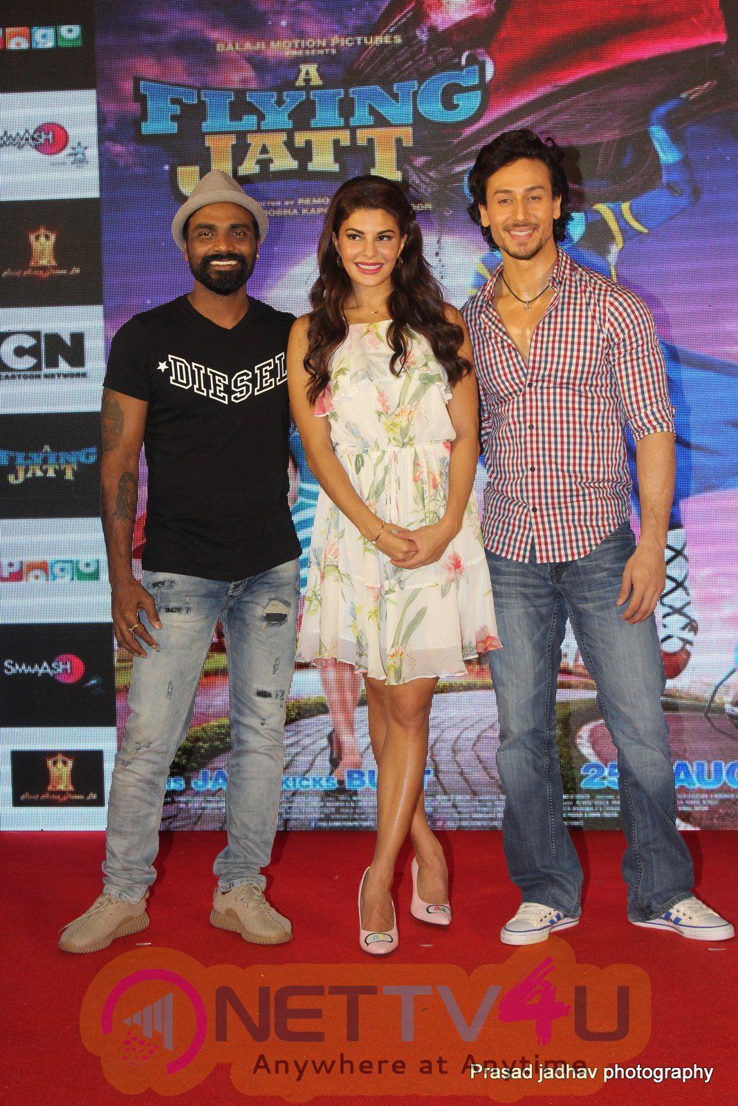 Tiger Shroff & Jacqueline Fernandez Meet Superhero Chhota Bheem Stills