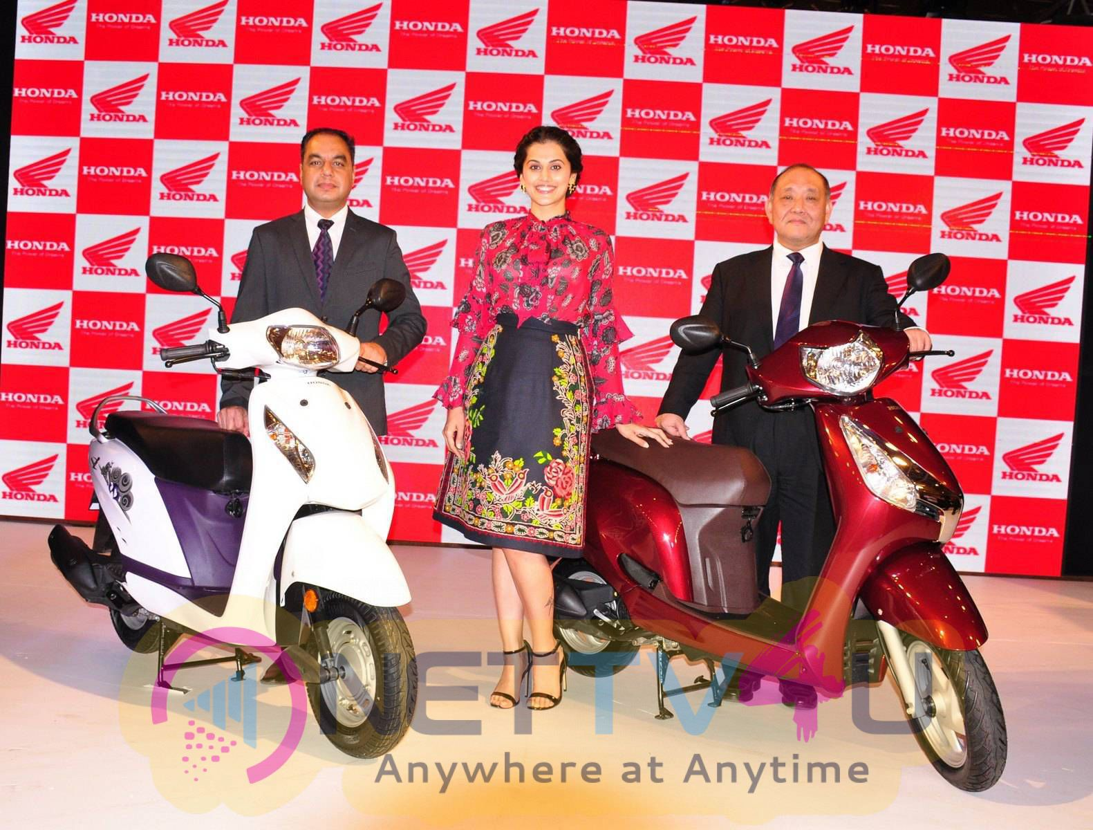 taapsee at activa i and aviator launch photos 11