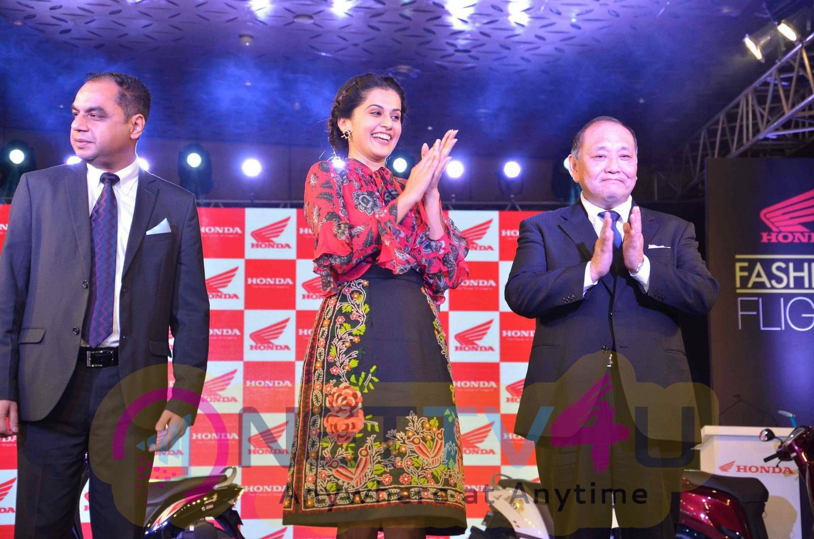 taapsee at activa i and aviator launch photos 15