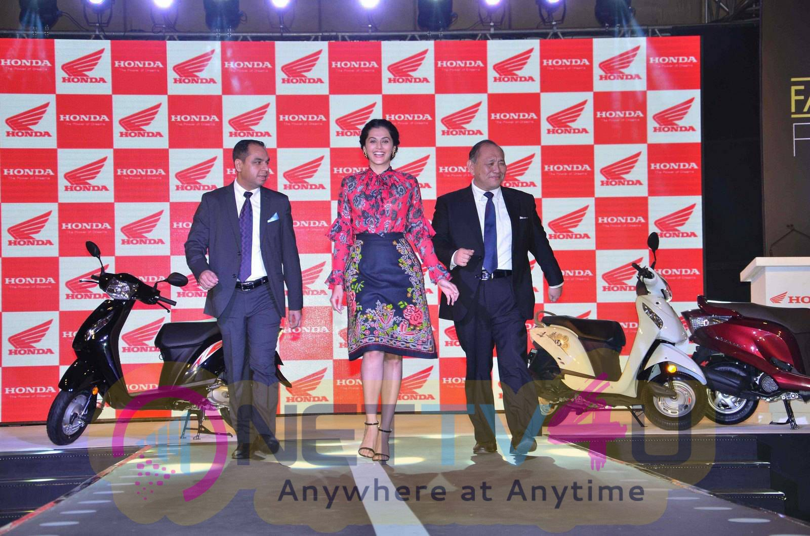 taapsee at activa i and aviator launch photos 17